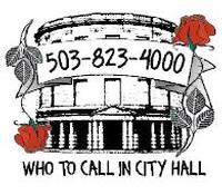 Who To Call In City Hall Logo