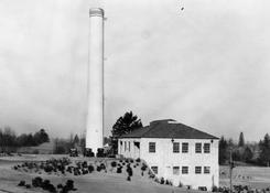 Incinerator in Chimney Park 1932